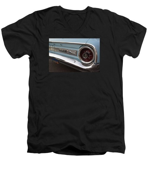 Galaxy Xl 500 Men's V-Neck T-Shirt by Mick Anderson