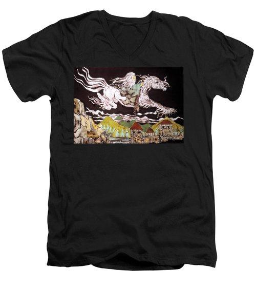 Gandalf And Shadowfax Men's V-Neck T-Shirt