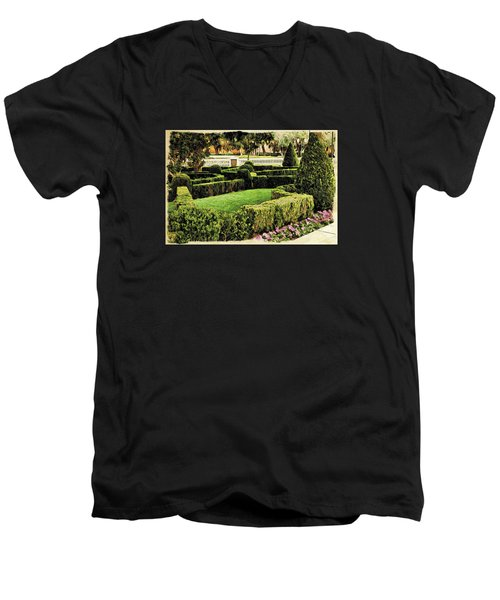 Garden  Men's V-Neck T-Shirt
