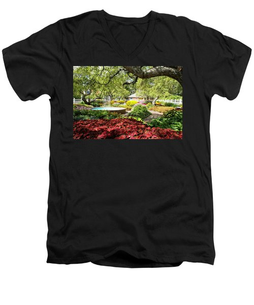 Garden Colors Men's V-Neck T-Shirt