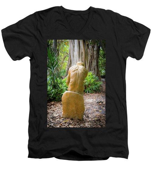Garden Sculpture 2 Men's V-Neck T-Shirt
