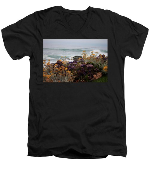 Garden View Men's V-Neck T-Shirt by Ivete Basso Photography
