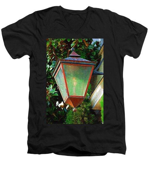 Gas Lantern Men's V-Neck T-Shirt