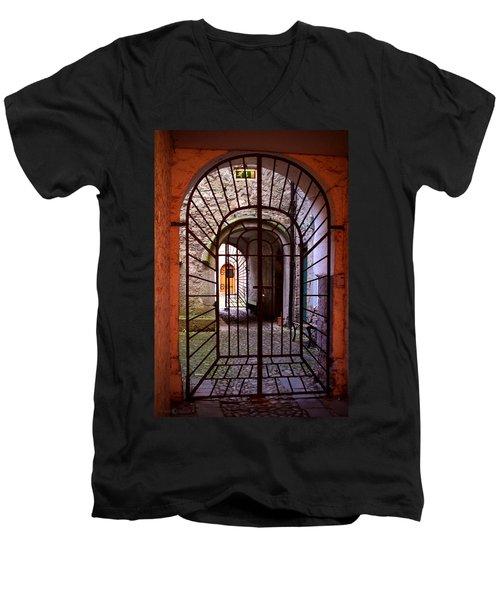 Gated Passage Men's V-Neck T-Shirt