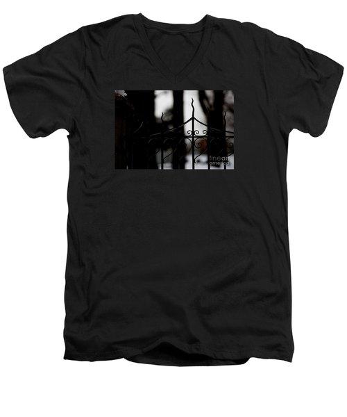Gated Woods Men's V-Neck T-Shirt
