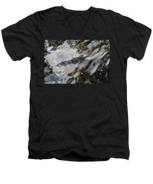 Gator Profile Men's V-Neck T-Shirt