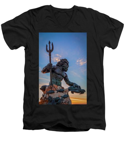 Gaze I Men's V-Neck T-Shirt