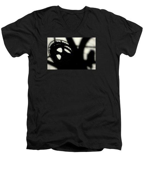 Gear Men's V-Neck T-Shirt by David Gilbert