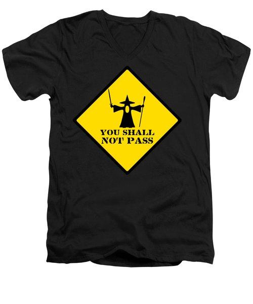 Geek Sign 1 Men's V-Neck T-Shirt