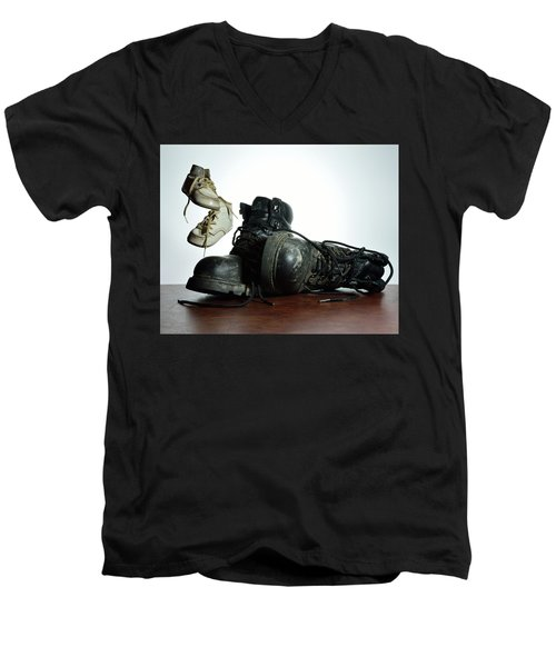 Men's V-Neck T-Shirt featuring the photograph Generations by Mark Fuller