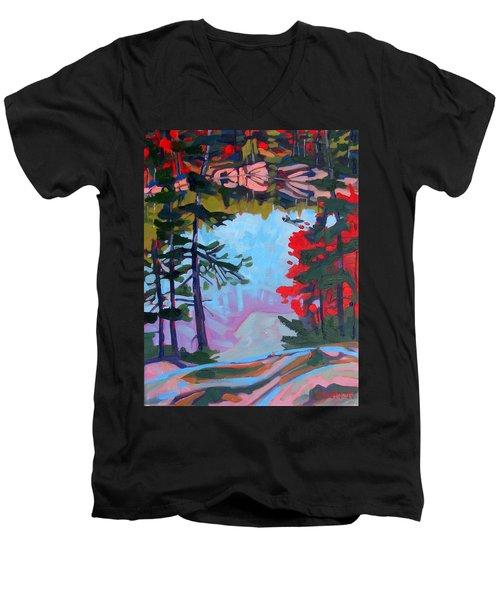 George Lake East Basin Men's V-Neck T-Shirt