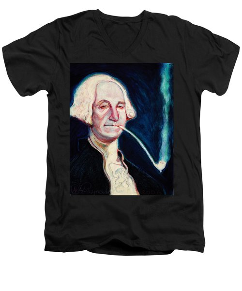 George Washington Men's V-Neck T-Shirt