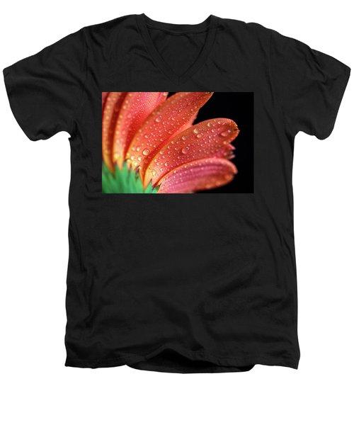 Gerbera Dew Men's V-Neck T-Shirt