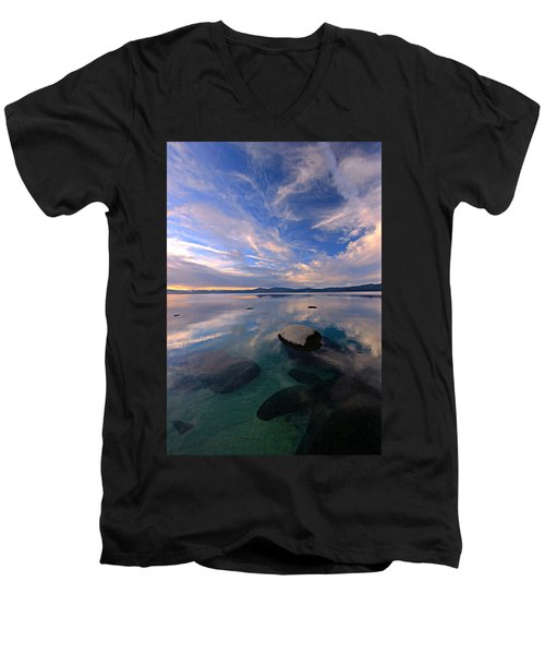 Get Into Nature Men's V-Neck T-Shirt