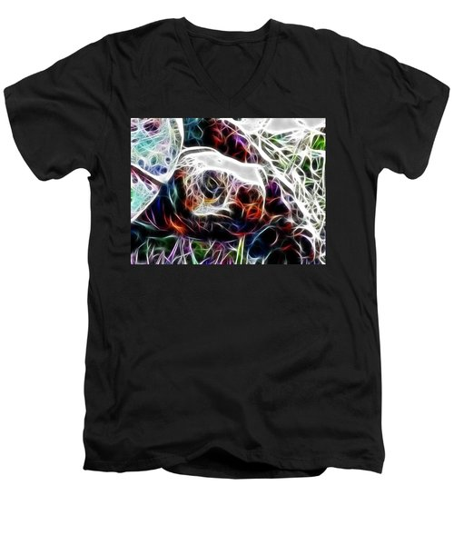 Getting Out Of My Shell Men's V-Neck T-Shirt by Douglas Barnard