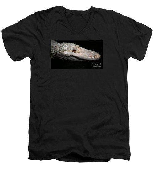 Ghost Of The Bayou Men's V-Neck T-Shirt