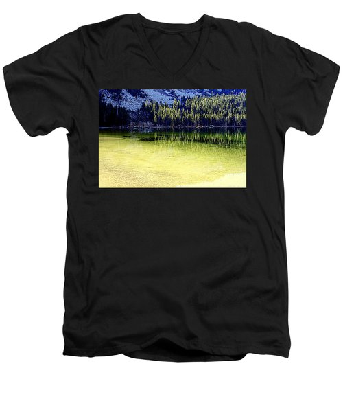 Ghostly Reflections Men's V-Neck T-Shirt