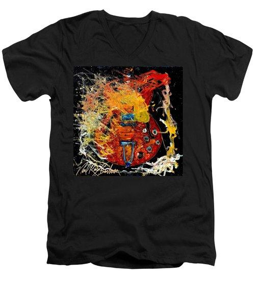 Gibson  Men's V-Neck T-Shirt