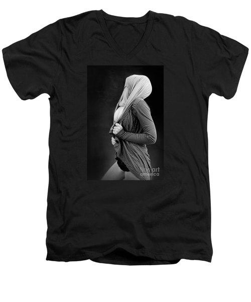 Girl #2299 Men's V-Neck T-Shirt