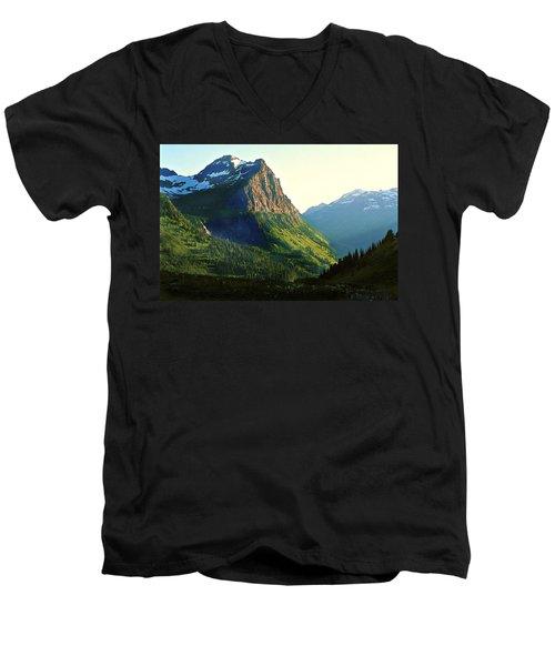 Glacier National Park 2 Men's V-Neck T-Shirt