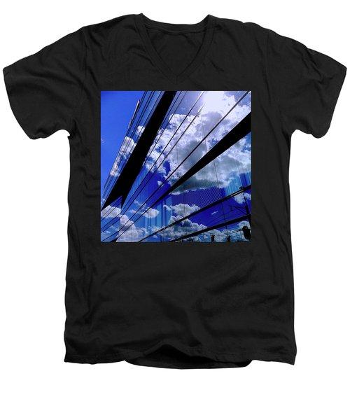 Glassy Confusion Men's V-Neck T-Shirt