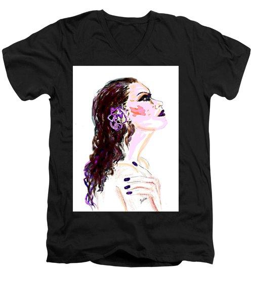 Glaze Men's V-Neck T-Shirt