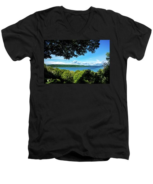 Glen Lake Men's V-Neck T-Shirt