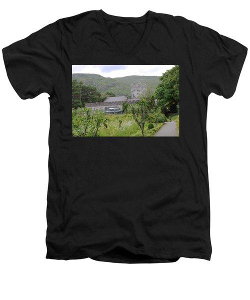 Glenveagh Castle Gardens 4287 Men's V-Neck T-Shirt
