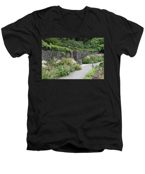 Glenveagh Castle Gardens 4288 Men's V-Neck T-Shirt