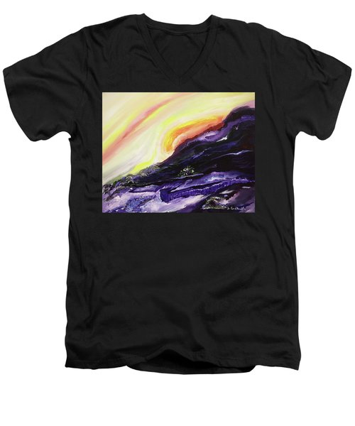 Gloaming Men's V-Neck T-Shirt