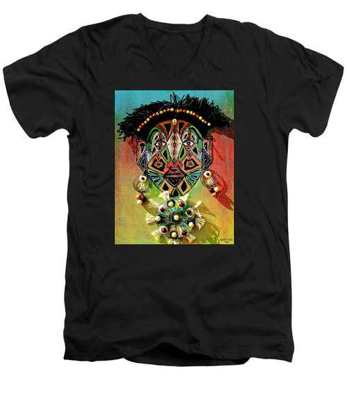 Glocal Child Men's V-Neck T-Shirt