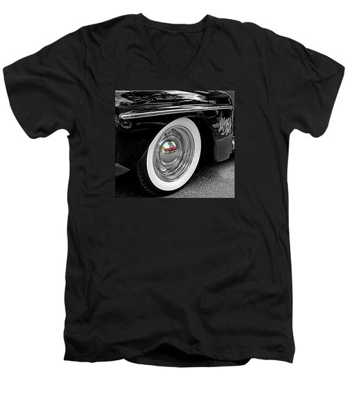 Men's V-Neck T-Shirt featuring the photograph Glory Days by Victor Montgomery
