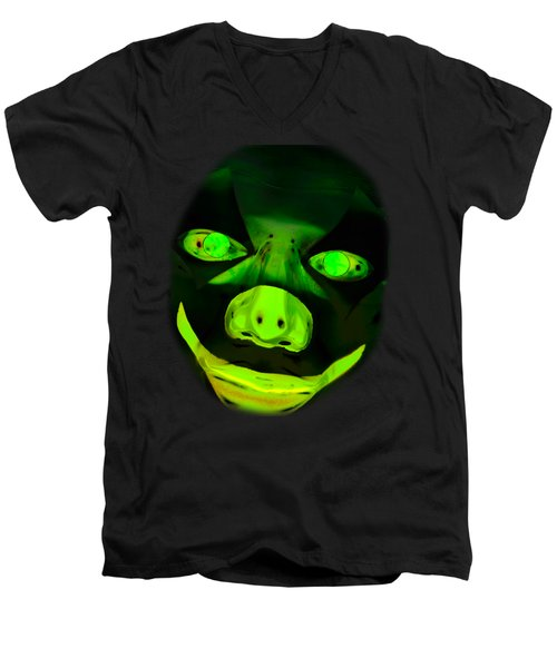 Spookyween Men's V-Neck T-Shirt