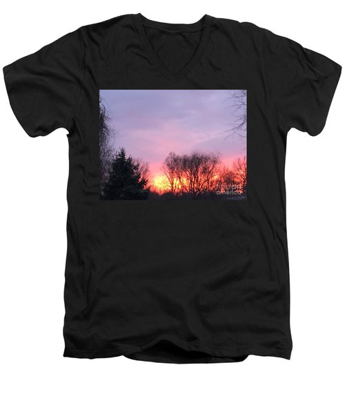 Glowing Almost Gone Men's V-Neck T-Shirt