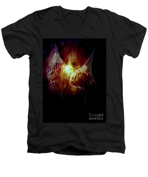 Glowingpixie Men's V-Neck T-Shirt