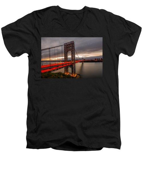Gods Light  Men's V-Neck T-Shirt