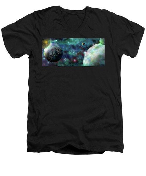 Going Further Men's V-Neck T-Shirt