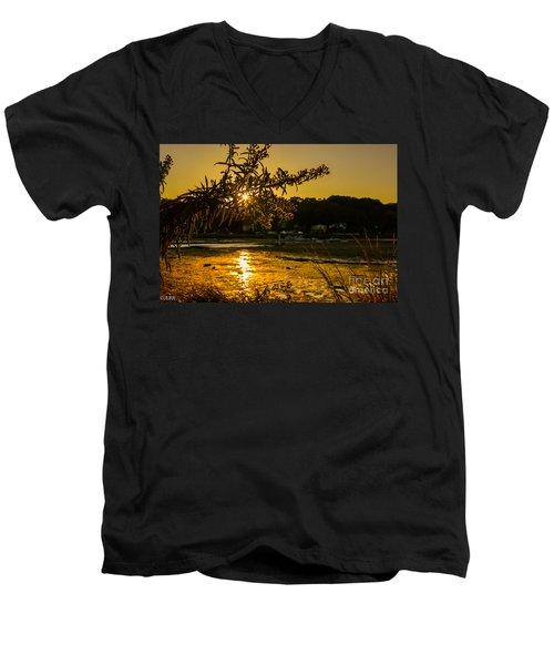 Golden Centerport Men's V-Neck T-Shirt