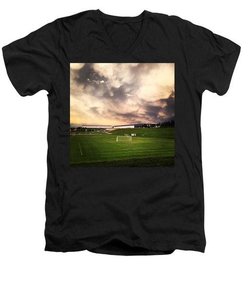 Golden Goal Men's V-Neck T-Shirt