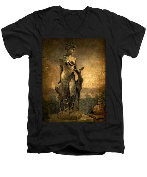 Golden Lady Men's V-Neck T-Shirt