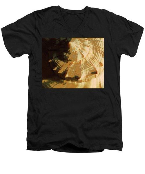 Golden Mean I Men's V-Neck T-Shirt by Carolina Liechtenstein