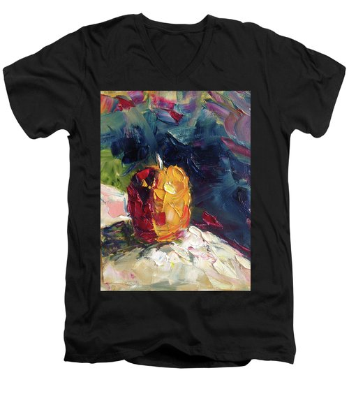 Golden Opportunity Men's V-Neck T-Shirt by Roxy Rich