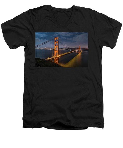 Golden Reflection Men's V-Neck T-Shirt