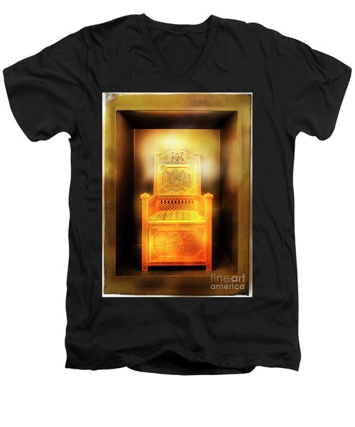 Golden Throne Men's V-Neck T-Shirt