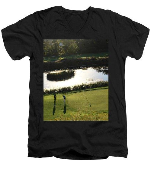 Golf - Puttering Around Men's V-Neck T-Shirt