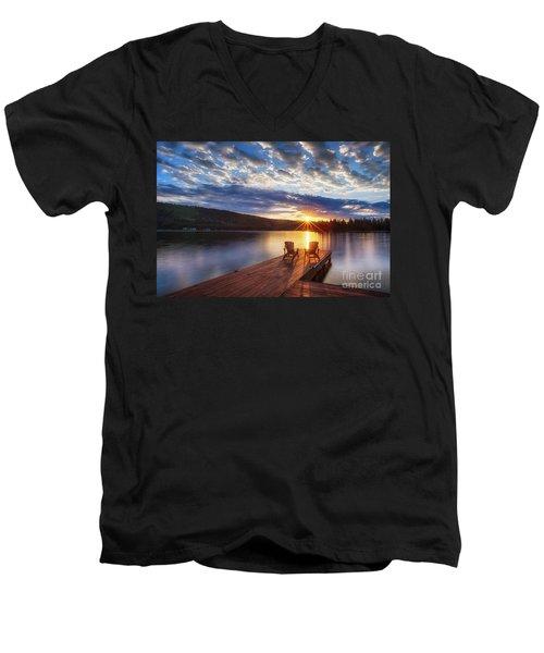 Good Morning Sun Men's V-Neck T-Shirt