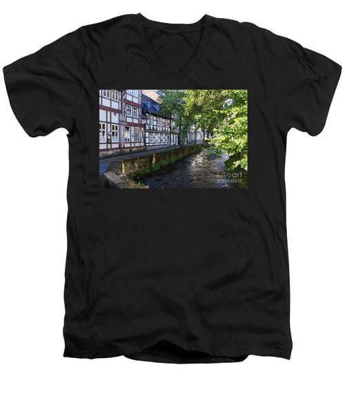 Goslar Old Town 8 Men's V-Neck T-Shirt