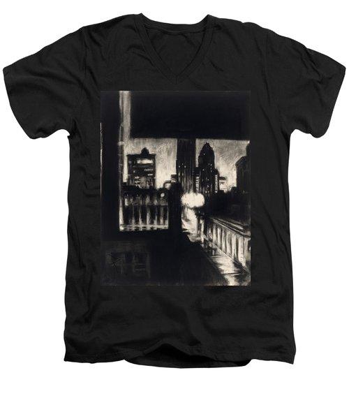 Gotham II Men's V-Neck T-Shirt