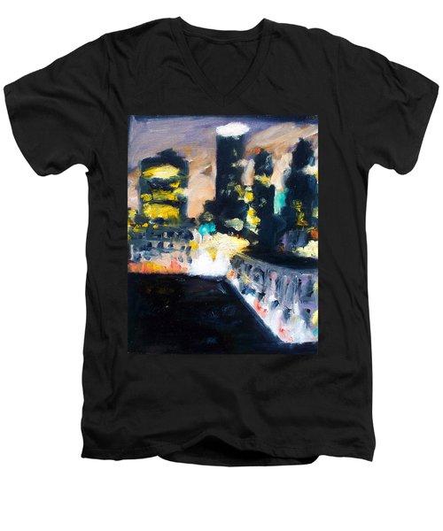 Gotham Men's V-Neck T-Shirt