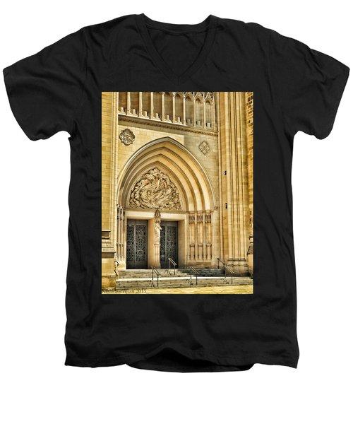 Gothic Entry Men's V-Neck T-Shirt